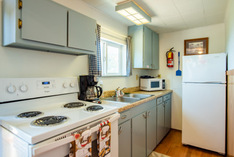 Oceanside Ocean Front Cabins - Cabin with kitchen