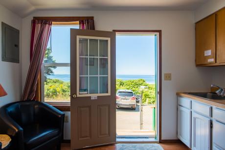 Oceanside Ocean Front Cabins - Cabin View